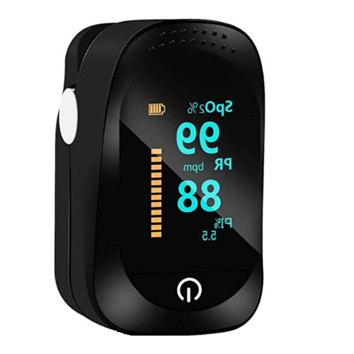 Pulse oximeter & heart rate monitor