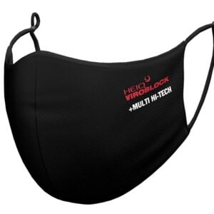HeiQ Type IIR Face mask in black